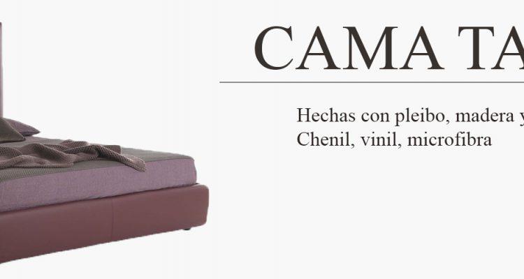 cama tapizada-productor-muebles-cuetara