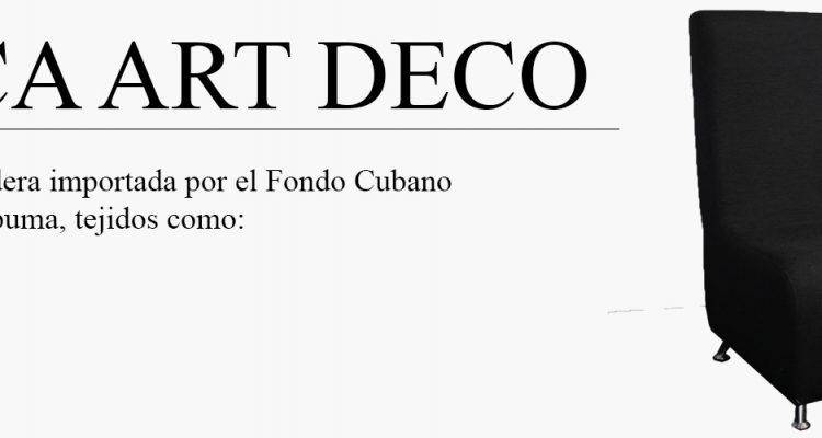 butaca art deco-productor-muebles-cuetara